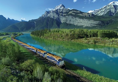 Rocky Mountaineer wide view