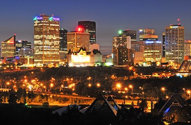 Edmonton night ext