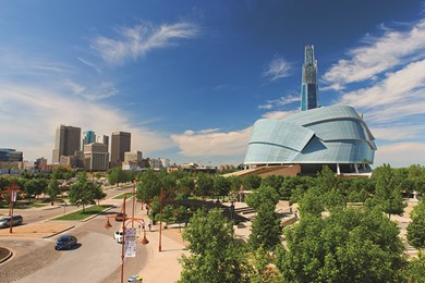 winnipeg -- canadian museum for human rights