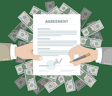 event contract negotiations