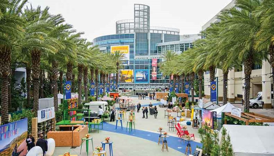 "Global DMC Partners took over the Anaheim Convention Center for a ""Best of California"" event at IPW 2019."