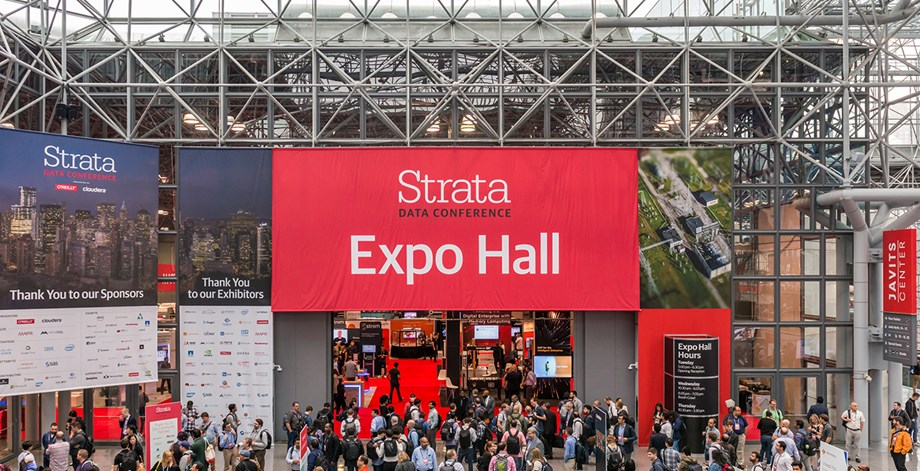 Strata is the largest data-conference series in the world and an annual mainstay for the Javits Center.