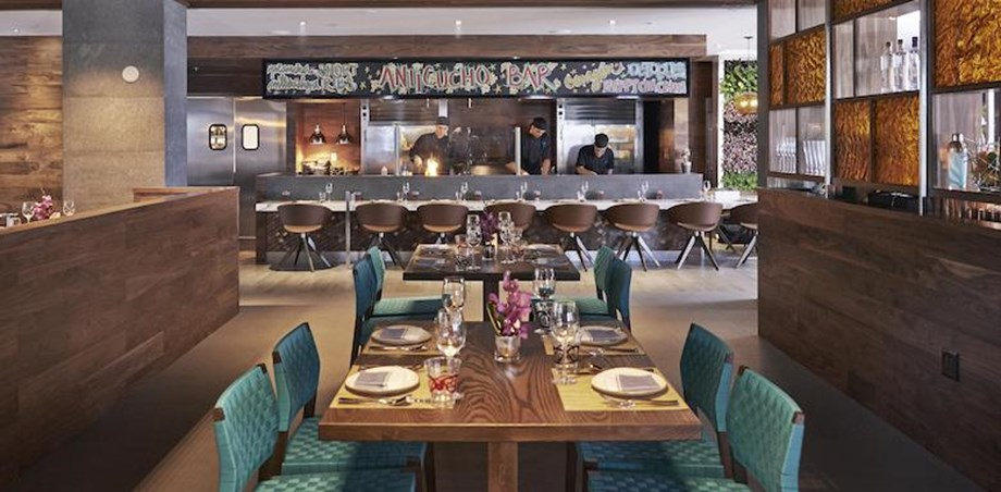 La Mar Miami sits within the city's Mandarin Oriental hotel