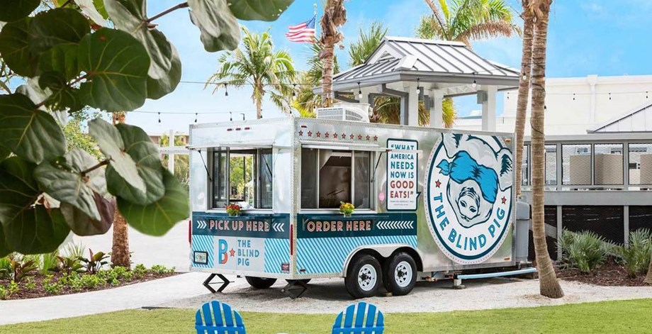 The Gates Hotel Key West - Food Truck - The Blind Pig