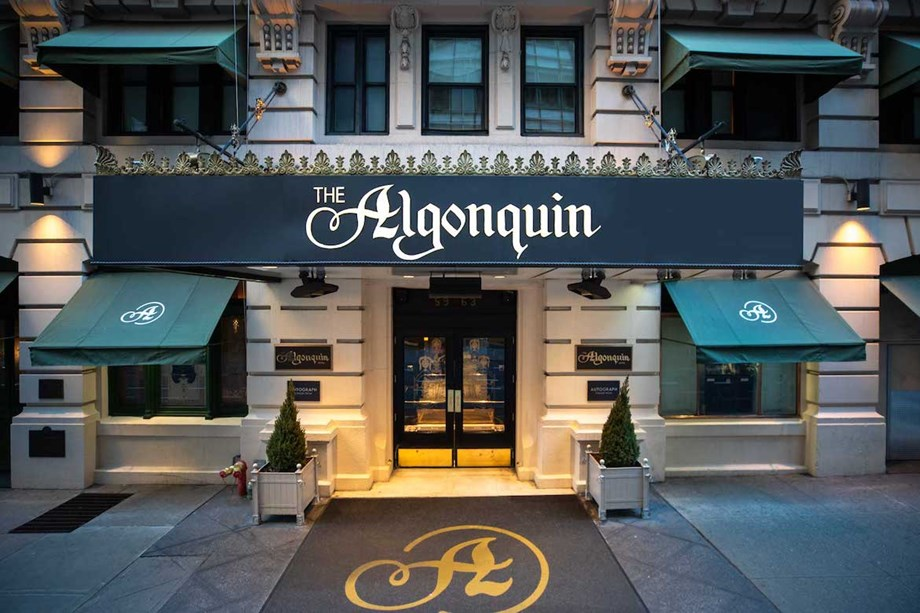 Members of the Algonquin Round Table are said to still wander the hotel halls.