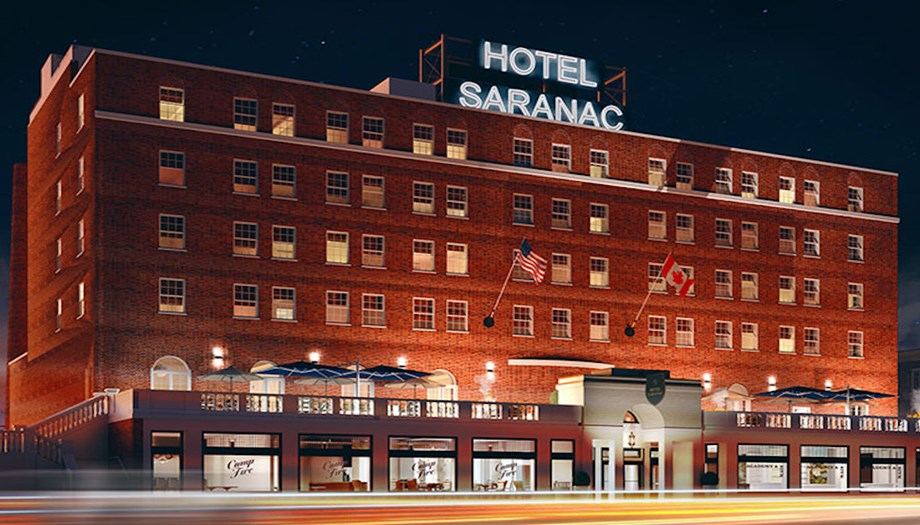 Various ghosts are said to haunt the historic Hotel Saranac, including a high school superintendent.