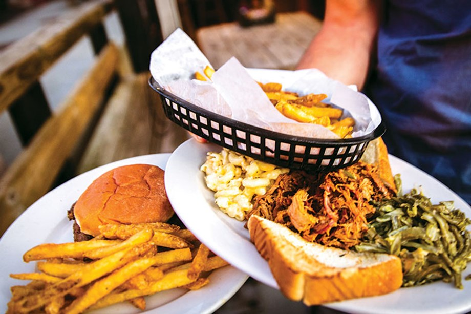 Southern comfort food is the hallmark of Mac's Speed Shop in Charlotte, N.C.