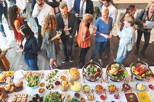 5 Unique Ways to Make Your Meeting Menu More Sustainable