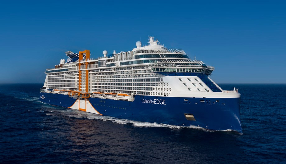 Celebrity Edge will set off on her official maiden voyage on Dec. 9.