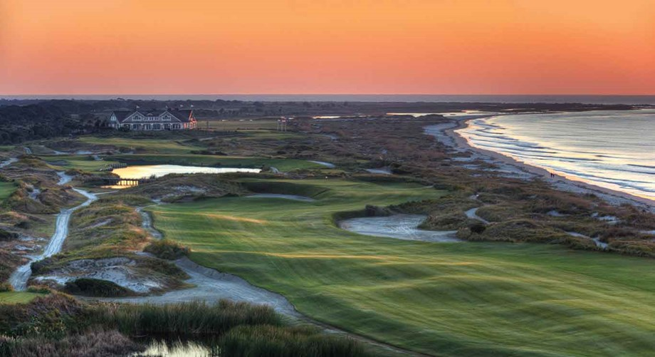 South Carolina's Kiawah Island Golf Resort features challenging layouts and gorgeous views.