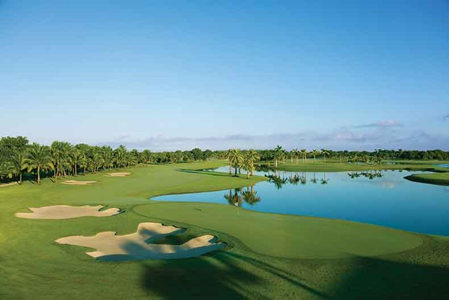 Beware the challenging Blue Monster course  at Trump National Doral Miami.