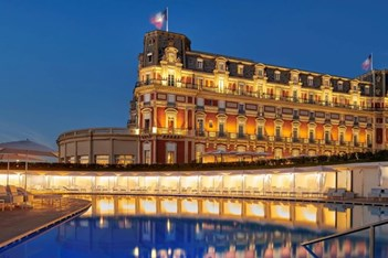 The Hotel du Palais Biarritz, site of this year's G7 Summit