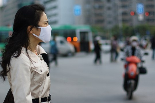 China Woman Facemask Epidemic Coronavirus