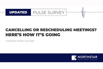 Week 5 Survey: Planners Report More Flexibility as They Continue to Cancel and Reschedule Events