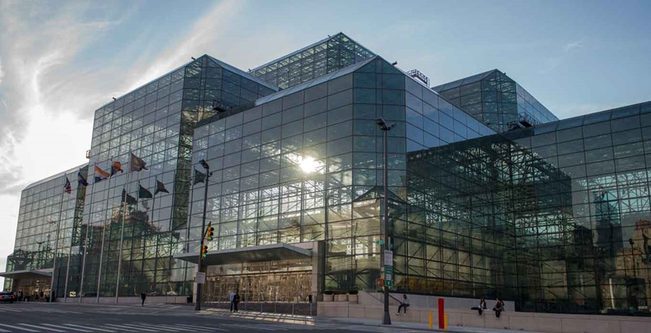 New York City's Jacob K. Javits Center is being converted into a 2,000-bed, makeshift hospital.