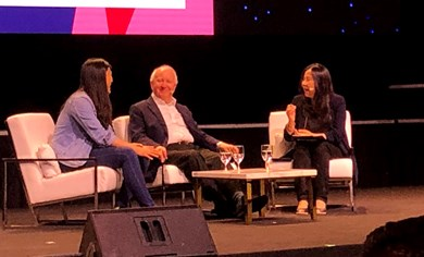 IMEX Group Chairman Ray Bloom discussed the importance of trust at the Singapore MICE Forum.