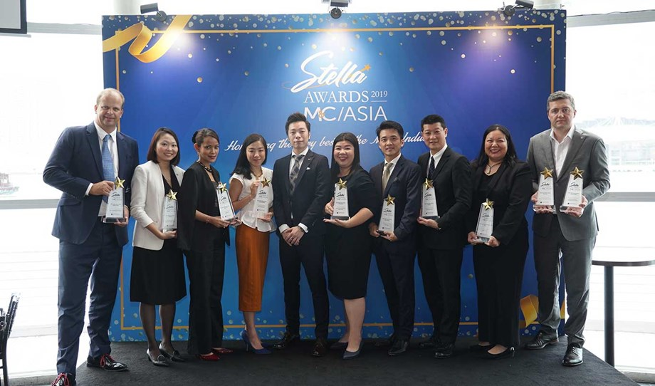 Proud representatives of some of the 14 hotels recognized for excellence in the Meetings Hotel category