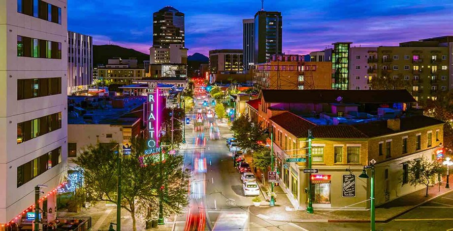 Tucson's downtown dining and entertainment districts provide plenty of activity choices for attendees.