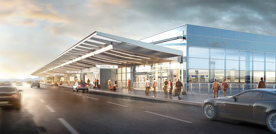 Salt Lake City International Airport's new terminal will debut in 2020.