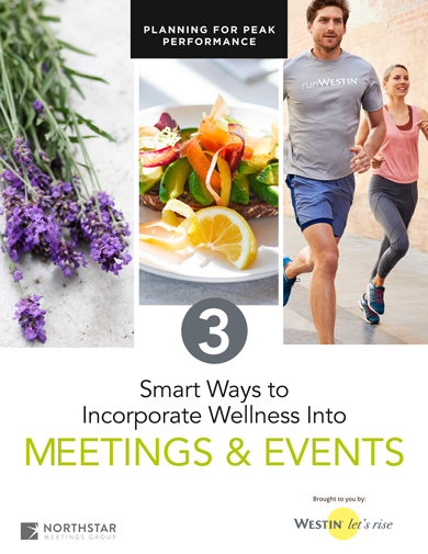 3 Smart Ways to Incorporate Wellness Into Meetings & Events Guide Cover