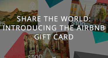 Airbnb Enters The Gift Card Market Incentive Magazine