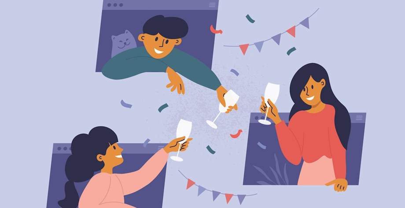 Using Technology to Celebrate Virtually