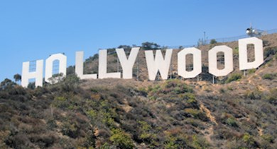 hollywood sign - 370