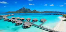 Four Seasons Bora Bora aerial small